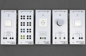 Wybrane panele z komponentami